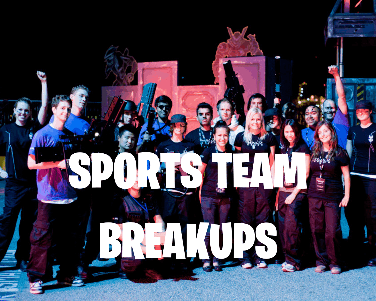 Sports Team break up link