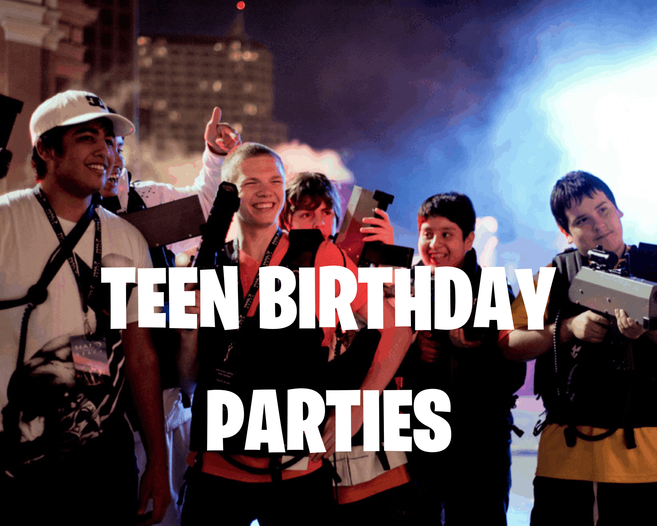 teen birthday parties
